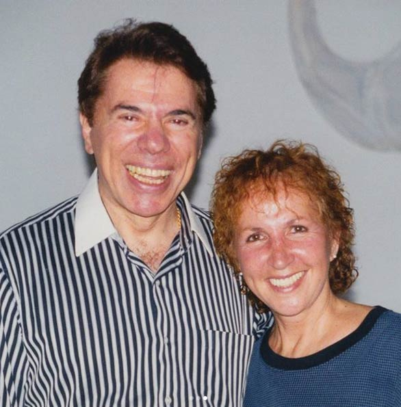 Silvio Santos e dona Alda
