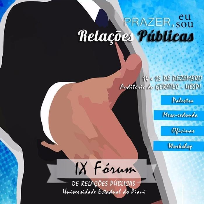 IX Fórum de Relações Públicas, na Universidade Estadual do Piauí (Crédito: Divulgação)