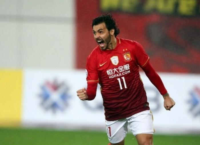Ricardo Goulart foi destaque no futebol chinês  (Crédito: Reprodução)