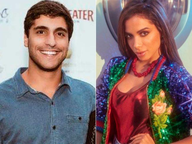 Anitta e marido são flagrados em festa na mansão da cantora