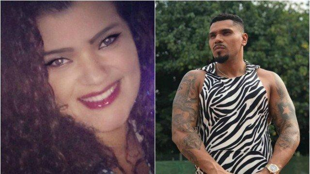 """Ex-mulher de Naldo diz que foi agredida por ele na frente do filho: """"Ele é doente"""""""