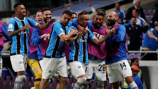 O gol da partida foi marcado por Evérton, na prorrogação  (Crédito: Reprodução)