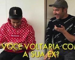 Em vídeo, Neymar é questionado se voltaria com Bruna Marquezine