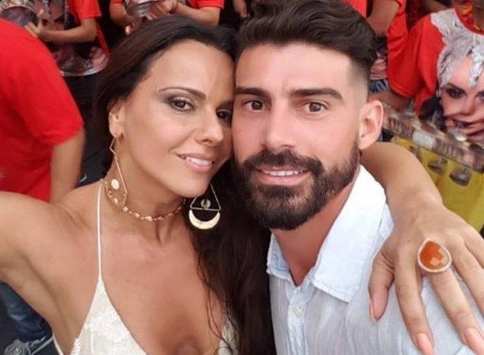 Viviane Araujo e Radamés