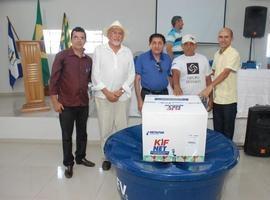Entrega de Kit´s Marcam Programação de Aniversário em Ipiranga