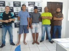 Dupla é presa após praticar vários assaltos em Bom Jesus