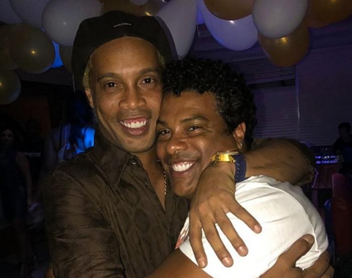 Assis, irmão de Ronaldinho Gaúcho, sofre infarto e é internado (Crédito: Reprodução)