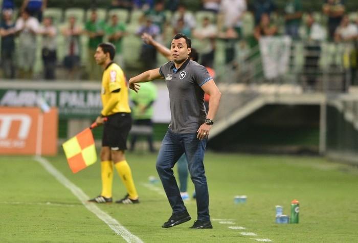Santos já iniciou conversas com Jair Ventura (Crédito: Marcos Riboli)