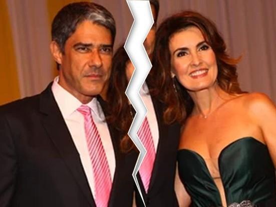 """Bonner surpreende e fala sobre separação com Fátima: """"Acho triste"""""""