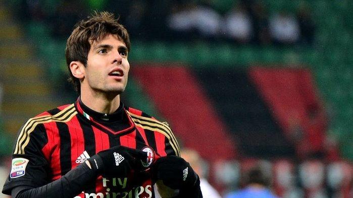 Kaká nos tempos de Milan (Crédito: Getty )