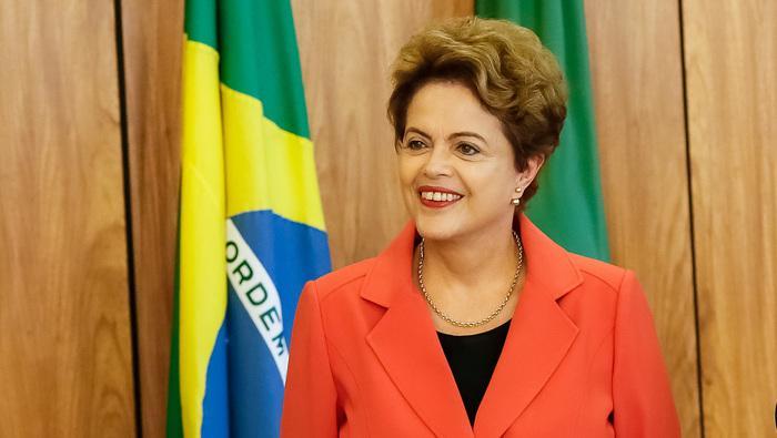 Ex-presidente Dilma Rousseff  (Crédito: CBR)