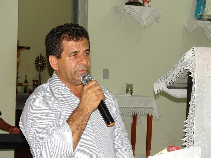 Prefeito municipal de Jatobá Zé Carlos (Crédito: Tony Sobrinho)
