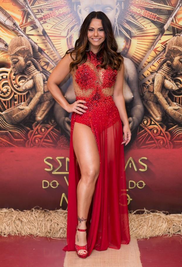 Viviane Araújo  (Crédito: QUEM)