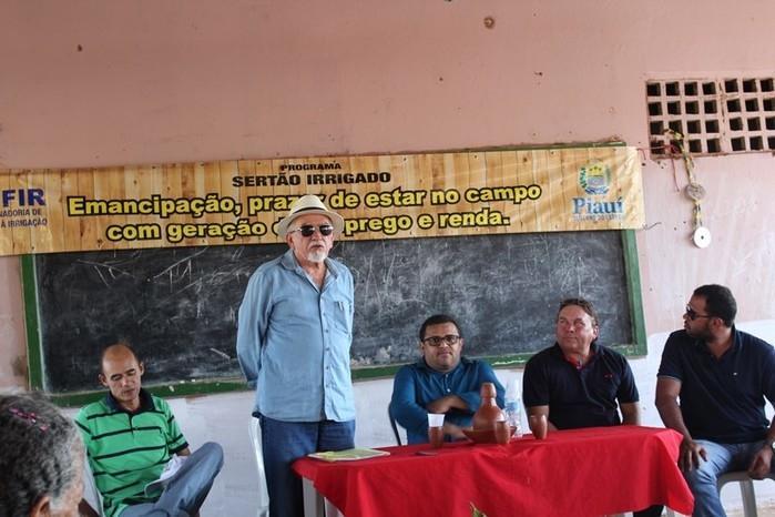 B.Sá -Coordenador da COOFIR: Coordenadoria de Fomento à Irrigação (Crédito: José Carlos da Silva)