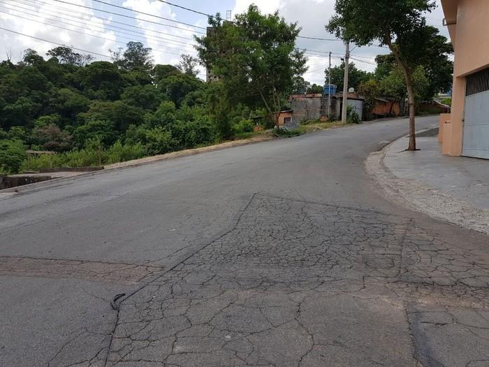 Rua onde ocorreu o crime (Crédito: Wellington Silva/TV TEM))