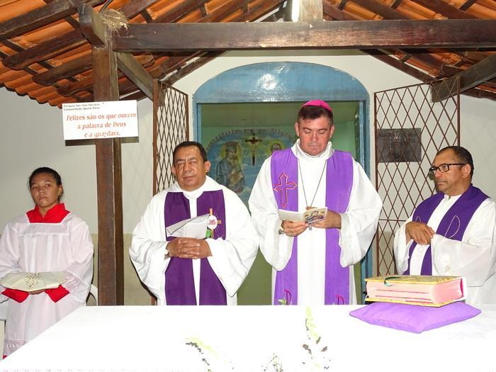 Bispo Diocesano de Campo Maior Dom Francisco de Assis (Crédito: Tony Sobrinho)