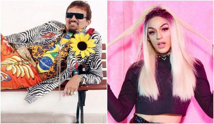 """Falcão critica Pabllo Vittar e fãs se revoltam: """"Quer ser lembrado"""""""