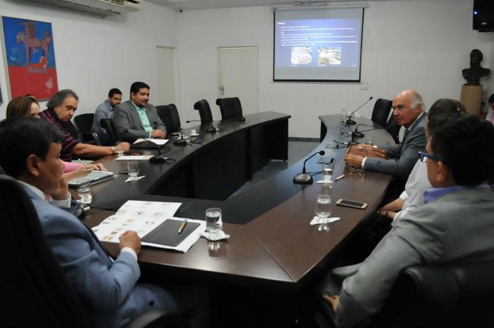Reunião com os investidores (Crédito: Paulo Barros)