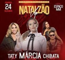 Márcia Fellipe e Taty Girl serão atrações do Natalzão Vip