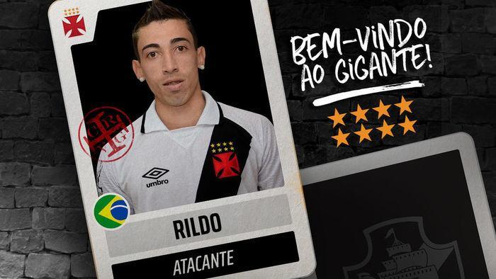 Atacante estava no Coritiba e assinou com o Vasco por 2 anos (Crédito: Reprodução)