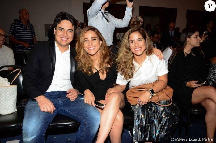 Filhas de Zezé se recusam a pousar com Graciele Lacerda em evento