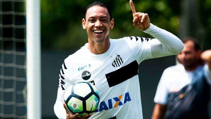 Ricardo Oliveira  (Crédito: Santos FC)