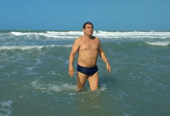 Marcos Frota se encanta com praias do litoral piauiense