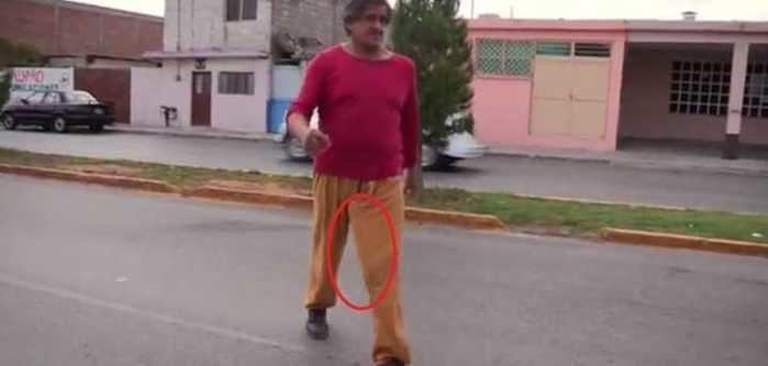 Roberto Esquivel Cabrera, dono do maior pênis do mundo (Crédito: Reprodução)
