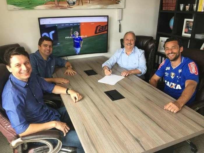 2 - David se mostra empolgado em atuar com Fred no Cruzeiro