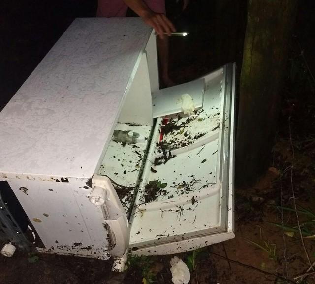 Corpo da jovem foi achado dentro de uma geladeira (Crédito: Divulgação)