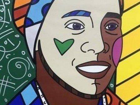 Imagem de Ronaldinho Gaúcho feito por Romero Britto divide opiniões