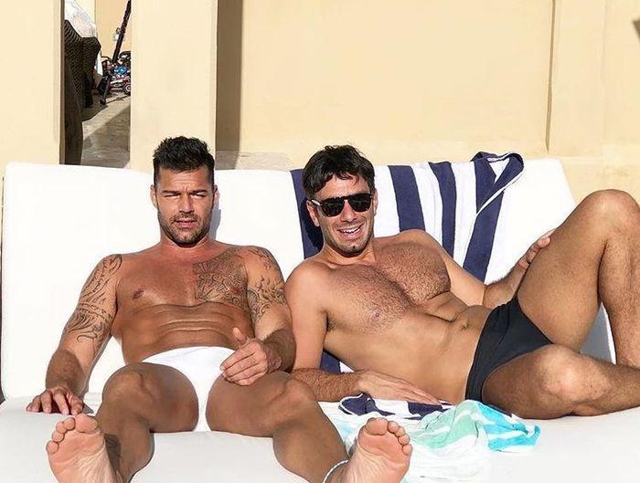Ricky Martin e o noivo Jwan Yosef (Crédito: Reprodução/ Instagram)