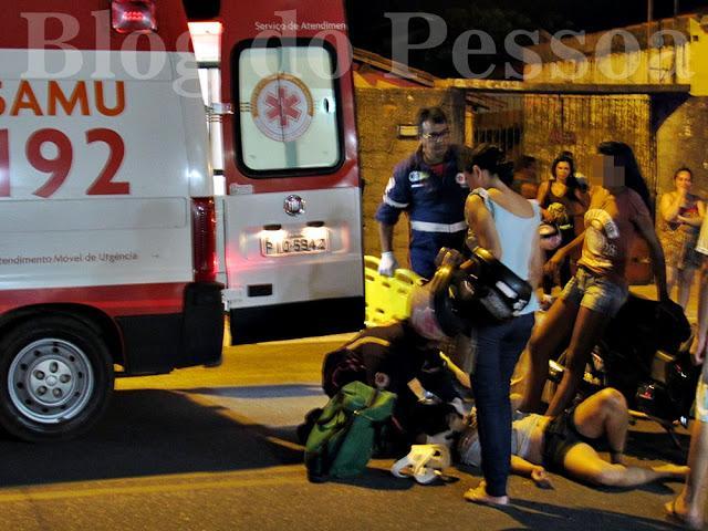 Duas mulheres ficam feridas após acidente em Parnaíba