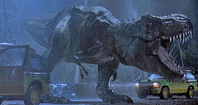 Cena clássica de Jurassic Park (Crédito: Reprodução)