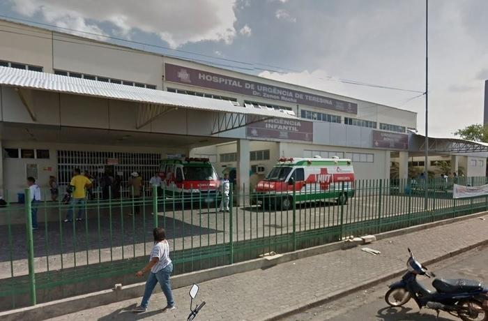 Hospital de Urgências de Teresina (Crédito: Reprodução)