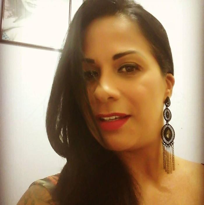 Alessandra Andrade foi atropelada duas vezes (Crédito: Reprodução )