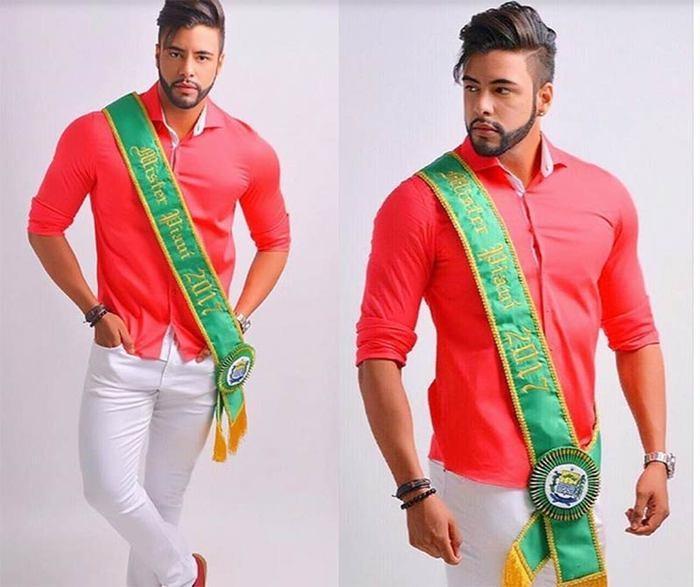 Antonyel Marquez foi eleito Mister Brasil Universo