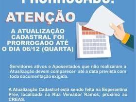 Prefeitura de Esperantina prorroga prazo para recadastramento