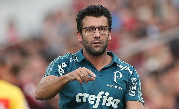 Alberto Valentim está fora do Palmeiras (Crédito: Agência Palmeiras)