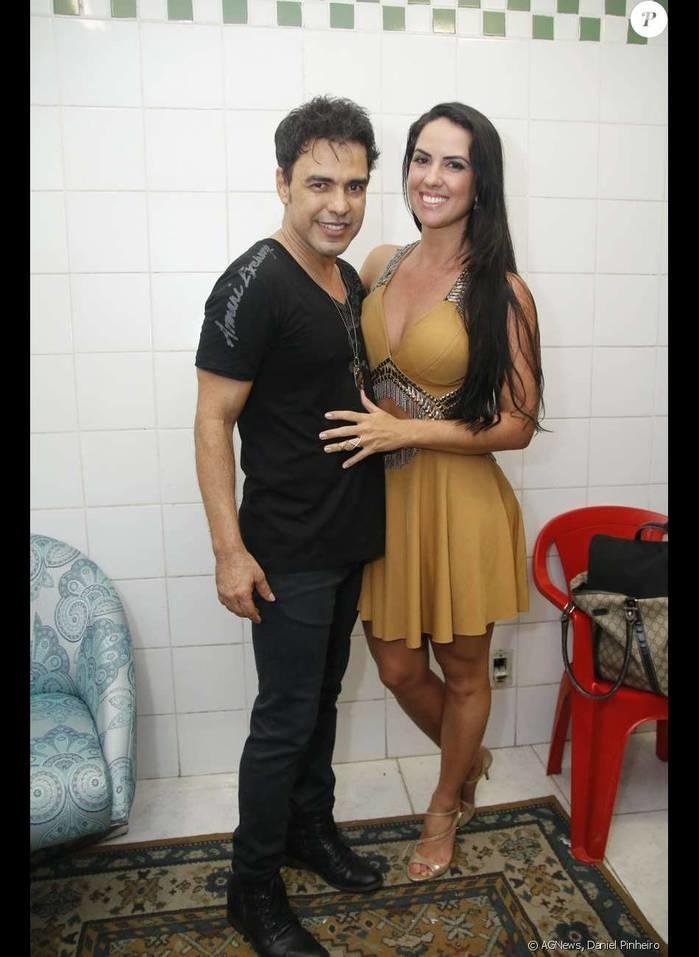 Graciele Lacerda afirma que Zezé fez música para ela quando estava casado com Zilu