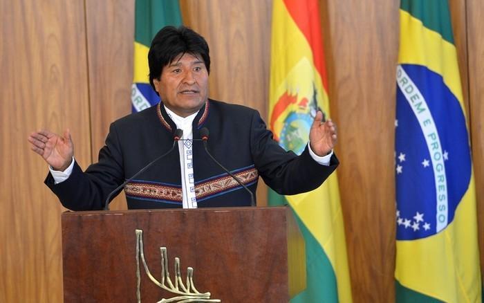 Evo Morales (Crédito: Antônio Cruz/ Agência Brasil)