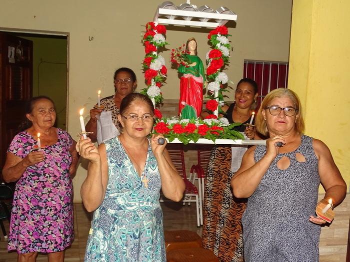 Procissão de Santa Luzia da comunidade Andrés em Jatobá (Crédito: Tony Sobrinho)