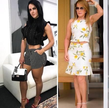 Zilu Camargo e ex amante de Zezé travam batalha em rede social
