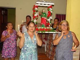 Festejo de Santa Luzia da comunidade Andrés em Jatobá do Piauí