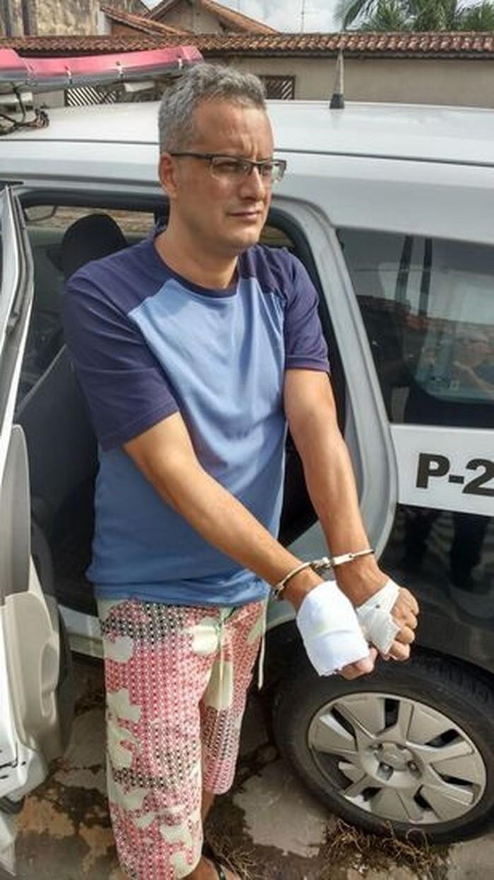Homem é preso após matar a mulher com 36 facadas em Osasco  (Crédito: Divulgação/PM)
