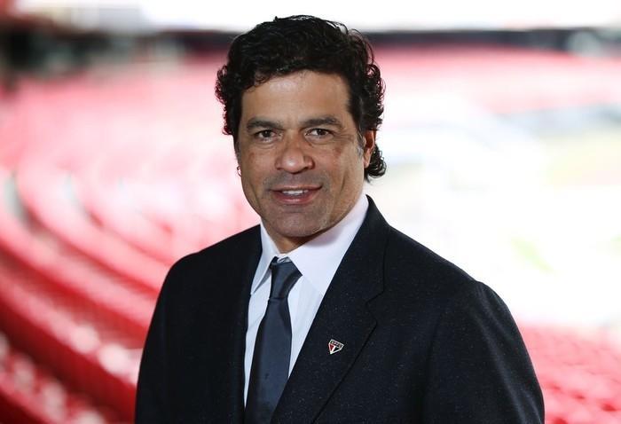 Raí é o novo diretor de futebol do São Paulo (Crédito: Rubens Chiri / saopaulofc.net)