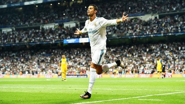 Cristiano Ronaldo conquistou o prêmio pela segunda vez seguida (Crédito: Getty)