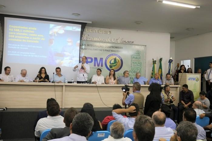 Ministro esteve na Associação Piauiense de Municípios  (Crédito: APPM)