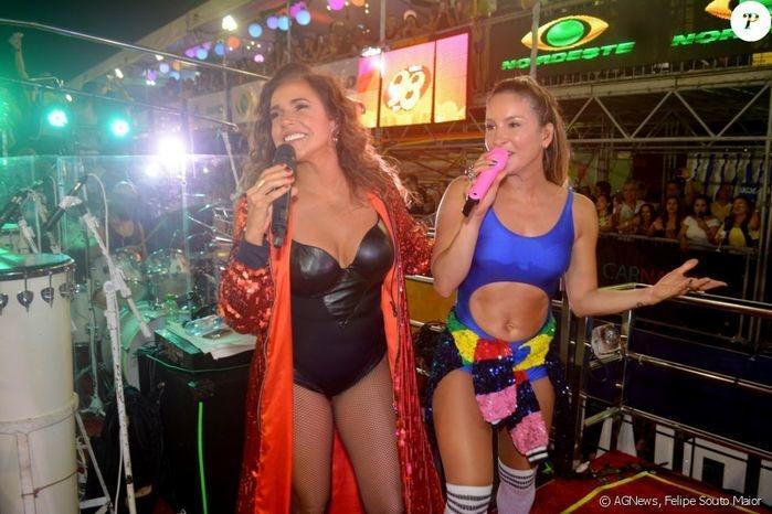 Daniela Mercury e Cláudia Leitte (Crédito: Felipe Souto/Agência News)