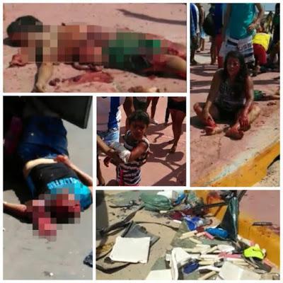 Grave acidente deixa cinco mortos e 15 feridos em São Luís